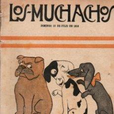 Libros antiguos: LOS MUCHACHOS. SEMANARIO CON REGALOS Nº 116. DOMINGO 30 DE JULIO DE 1916.. Lote 107609047