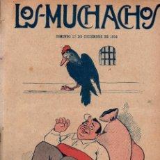 Libros antiguos: LOS MUCHACHOS. SEMANARIO CON REGALOS Nº 135. DOMINGO 10 DE DICIEMBRE DE 1916.. Lote 107610839