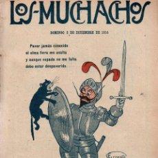 Libros antiguos: LOS MUCHACHOS. SEMANARIO CON REGALOS Nº 134. DOMINGO 3 DE DICIEMBRE DE 1916.. Lote 107611011