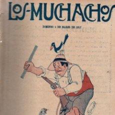 Libros antiguos: LOS MUCHACHOS. SEMANARIO CON REGALOS Nº 146. DOMINGO 4 DE MARZO DE 1917.. Lote 107676979