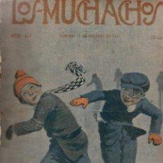 Libros antiguos: LOS MUCHACHOS. SEMANARIO CON REGALOS Nº 145. DOMINGO 16 DE FEBRERO DE 1917.. Lote 107677755
