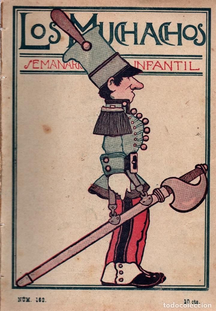 LOS MUCHACHOS. SEMANARIO INFANTIL Nº 162. DOMINGO 17 DE JUNIO DE 1917. (Libros Antiguos, Raros y Curiosos - Literatura Infantil y Juvenil - Cuentos)
