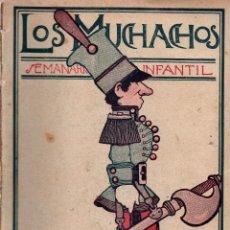 Libros antiguos: LOS MUCHACHOS. SEMANARIO INFANTIL Nº 162. DOMINGO 17 DE JUNIO DE 1917.. Lote 107684163