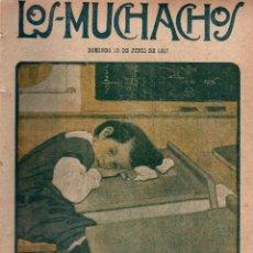 Libros antiguos: LOS MUCHACHOS. SEMANARIO CON REGALOS Nº 161. DOMINGO 10 DE JUNIO DE 1917.. Lote 107684367