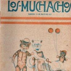Libros antiguos: LOS MUCHACHOS. SEMANARIO CON REGALOS Nº 157. DOMINGO 18 DE MAYO DE 1917.. Lote 107685159