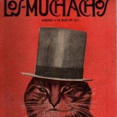 Libros antiguos: LOS MUCHACHOS. SEMANARIO CON REGALOS Nº 156. DOMINGO 6 DE MAYO DE 1917.. Lote 107685347