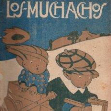 Libros antiguos: LOS MUCHACHOS. SEMANARIO CON REGALOS Nº 154. DOMINGO 22 DE ABRIL DE 1917.. Lote 107685691