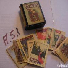 Libros antiguos: VOLUMEN CON GRAN LOTE DE LOS CUENTOS DE CALLEJA. Lote 107730387