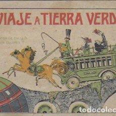 Libros antiguos: VIAJE A TIERRA VERDE. MADRID : CALLEJA, 1919. CUENTOS EN COLORES. 5A. SERIE. 12X17CM. 16 P.. Lote 108013751