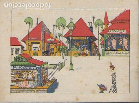 Libros antiguos: Viaje a tierra verde. Madrid : Calleja, 1919. Cuentos en colores. 5a. serie. 12x17cm. 16 p. - Foto 4 - 108013751