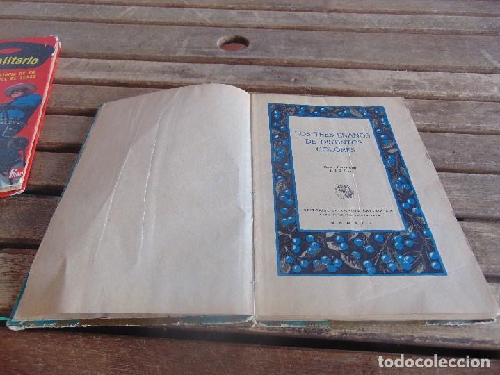 Libros antiguos: CUENTO LOS TRES ENANOS DE DISTINTOS COLORES DE SATURNINO CALLEJA TOMO Nº 10 - Foto 7 - 108705119