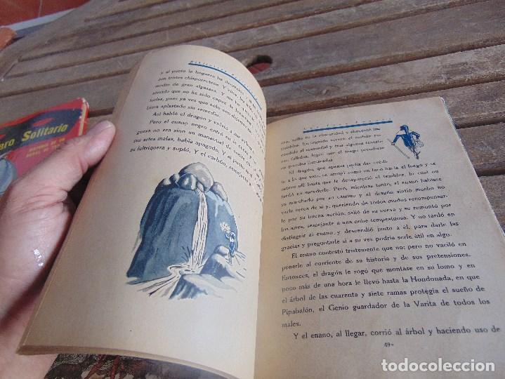 Libros antiguos: CUENTO LOS TRES ENANOS DE DISTINTOS COLORES DE SATURNINO CALLEJA TOMO Nº 10 - Foto 13 - 108705119