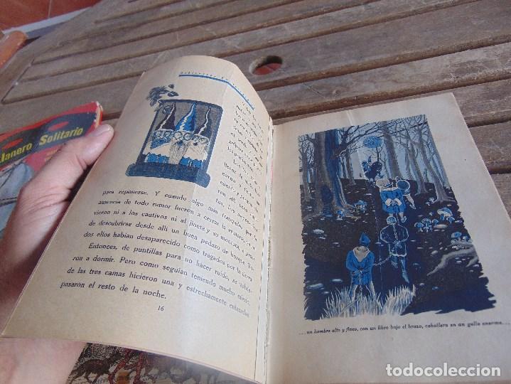 Libros antiguos: CUENTO LOS TRES ENANOS DE DISTINTOS COLORES DE SATURNINO CALLEJA TOMO Nº 10 - Foto 15 - 108705119