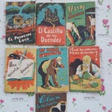 Libros antiguos: 7 MINI CUENTOS INFANTILES DE EDICIONES DE YÓ.. Lote 108842719