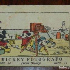 Libros antiguos: MICKEY FOTOGRAFO, ED.SATURNINO CALLEJA, JUGUETES INSTRUCTIVOS MICKEY TOMO 24 SERIE II, 1936, MIDE 7,. Lote 108918295