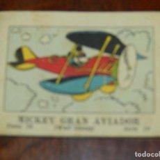 Libros antiguos: MICKEY GRAN AVIADOR, ED.SATURNINO CALLEJA, JUGUETES INSTRUCTIVOS MICKEY TOMO 76 SERIE IV, 1936, MIDE. Lote 108920243