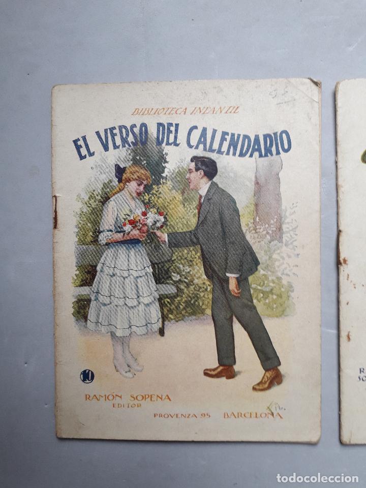 Libros antiguos: Lote de 2 Cuentos Antiguos de Ramón Sopena Editor. Biblioteca Infantil. - Foto 2 - 109035963