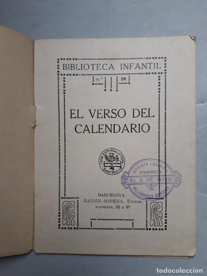 Libros antiguos: Lote de 2 Cuentos Antiguos de Ramón Sopena Editor. Biblioteca Infantil. - Foto 3 - 109035963