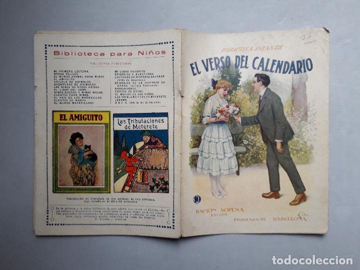 Libros antiguos: Lote de 2 Cuentos Antiguos de Ramón Sopena Editor. Biblioteca Infantil. - Foto 4 - 109035963