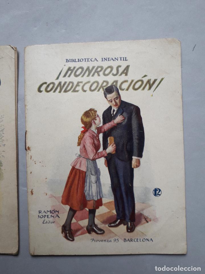 Libros antiguos: Lote de 2 Cuentos Antiguos de Ramón Sopena Editor. Biblioteca Infantil. - Foto 5 - 109035963