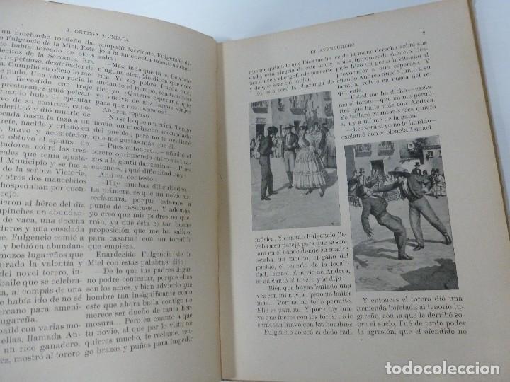 Libros antiguos: EL AVENTURERO. EL SOLITARIO DE DEUSTO. J. ORTEGA MUNILLA. COLECCIÓN BIBLIOTECA PARA NIÑOS. 1930 - Foto 3 - 109297003