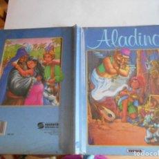 Libros antiguos: ALADINO - EDICIONES SUSAETA, 1993. PASTAS DURAS; CON OCHO HOJAS, DURAS COMO LAS TAPAS;. Lote 109555287