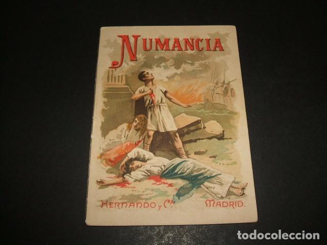 NUMANCIA COLECCION MUSEO DE LA NIÑEZ HERNANDO Y CIA MADRID HACIA 1900 (Libros Antiguos, Raros y Curiosos - Literatura Infantil y Juvenil - Cuentos)