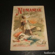 Libros antiguos: NUMANCIA COLECCION MUSEO DE LA NIÑEZ HERNANDO Y CIA MADRID HACIA 1900. Lote 109567883