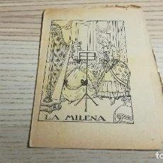 Libros antiguos: COL·LECCIÓ PATUFET. LA MILENA. 616. MANUEL MARINEL·LO. Lote 110038043