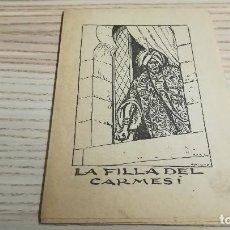 Libros antiguos: COL·LECCIÓ PATUFET. LA FILLA DEL CARMESI. 778, R BIR.. Lote 110038199