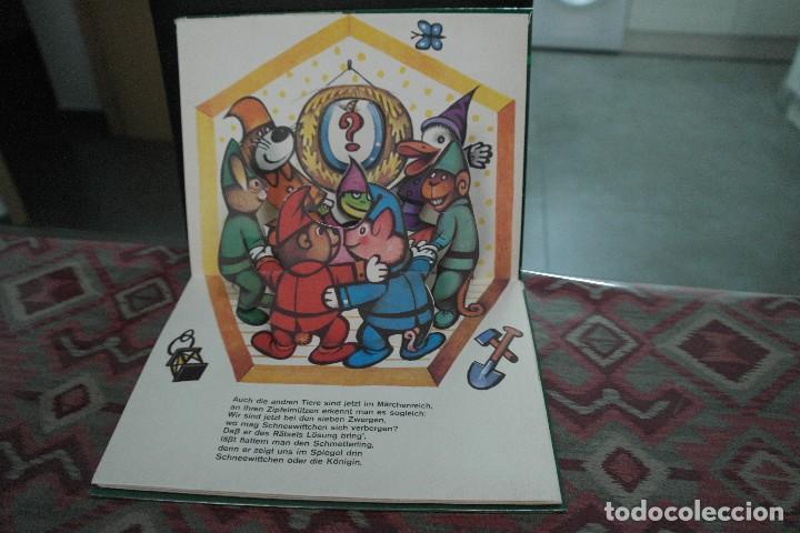 Libros antiguos: Cuentos de animales 1979, pop up, libro de Kubasta en alemán - Foto 3 - 110105351