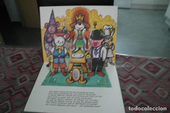 Libros antiguos: Cuentos de animales 1979, pop up, libro de Kubasta en alemán - Foto 5 - 110105351
