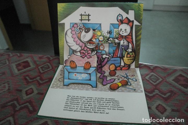 Libros antiguos: Cuentos de animales 1979, pop up, libro de Kubasta en alemán - Foto 6 - 110105351