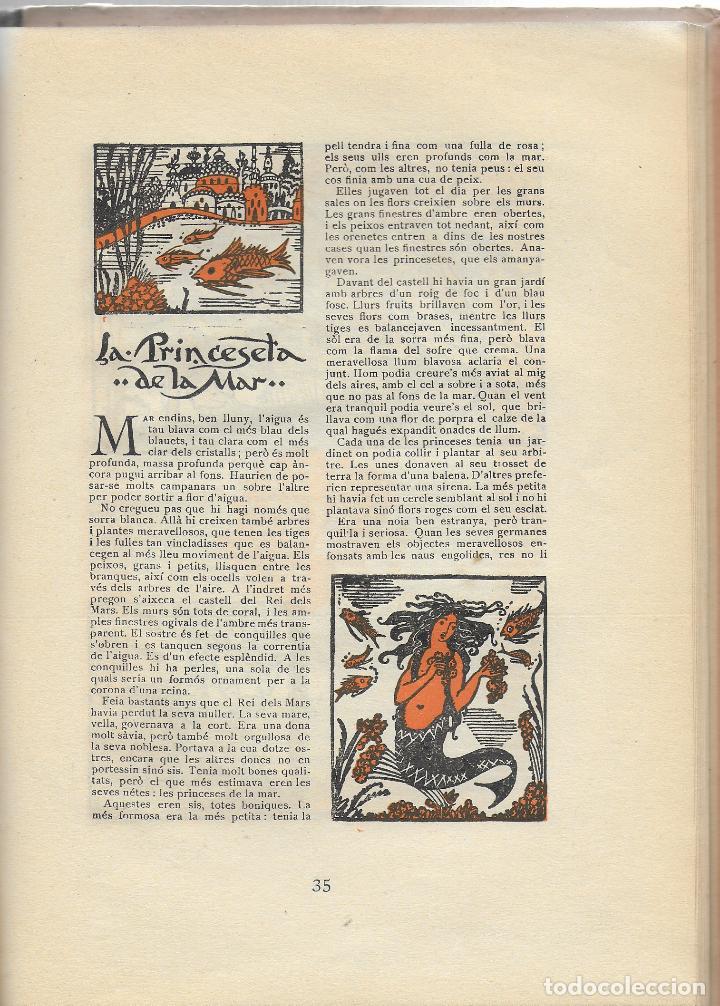Libros antiguos: Tres contes d Andersen ilustrats per Joan d Ivori; prol. A. Galí. BCN : Tip. Catalana,1923. - Foto 3 - 110146855