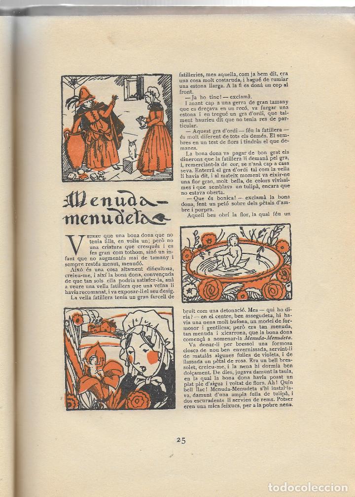 Libros antiguos: Tres contes d Andersen ilustrats per Joan d Ivori; prol. A. Galí. BCN : Tip. Catalana,1923. - Foto 4 - 110146855