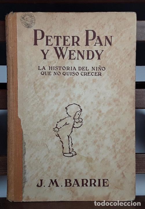 Libros antiguos: PETER PAN Y WENDY. J.M.BARRIE. EDIT JUVENTUD. 5º EDICIÓN. 1934. - Foto 6 - 110435667