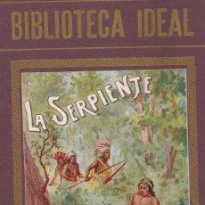 Libros antiguos: VARIOS. LA SERPIENTE Y OTROS CUENTOS. BURGOS, HIJOS DE SANTIAGO RODRÍGUEZ, S.F. (C. 1920).. Lote 110623779