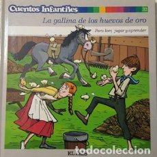 Libros antiguos: CUENTOS INFANTILES - LA GALLINA DE LOS HUEVOS DE ORO - PARA LEER JUGAR Y APRENDER - . Lote 110739027