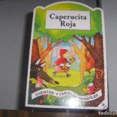 Libros antiguos: CAPERUCITA ROJA - EDAF - TROQUELADO PRENATAL. Lote 110891995