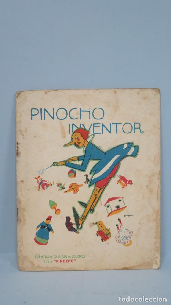 PINOCHO INVENTOR. ED. CALLEJA (Libros Antiguos, Raros y Curiosos - Literatura Infantil y Juvenil - Cuentos)