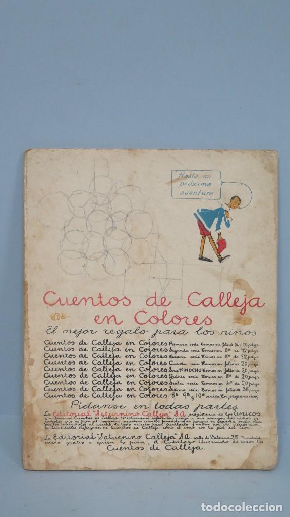 Libros antiguos: PINOCHO INVENTOR. ED. CALLEJA - Foto 2 - 111058039