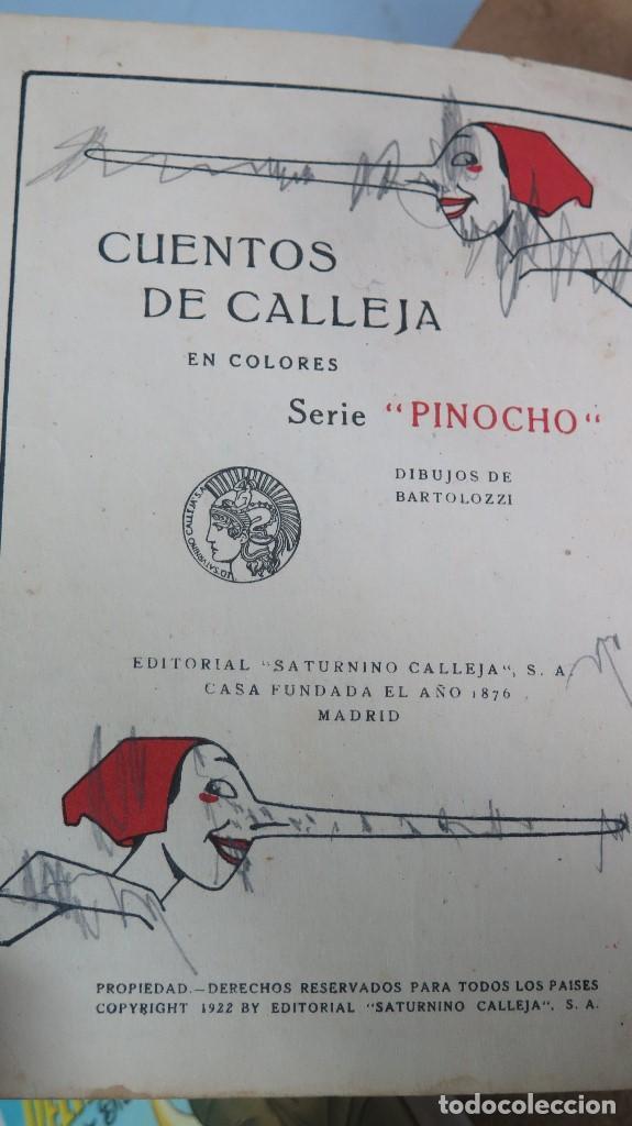Libros antiguos: PINOCHO INVENTOR. ED. CALLEJA - Foto 3 - 111058039