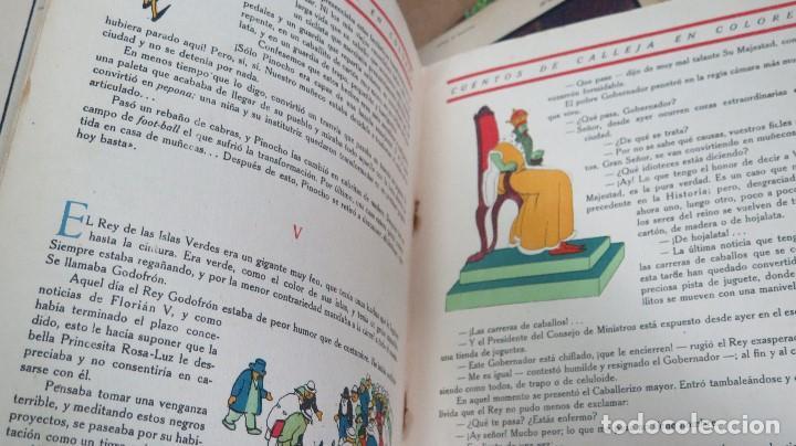 Libros antiguos: PINOCHO INVENTOR. ED. CALLEJA - Foto 5 - 111058039