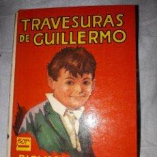 Libros antiguos: TRAVESURAS DE GUILLERMO. Lote 111094899