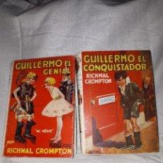 Libros antiguos: DOS LIBROS GUILLERMO EL CONQUISTADOR. Lote 111096131