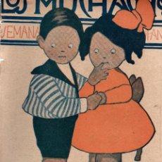 Libros antiguos: LOS MUCHACHOS. SEMANARIO CON PREMIO. NÚM. 170. DOMINGO 12 DE AGOSTO DE 1917.. Lote 111221791