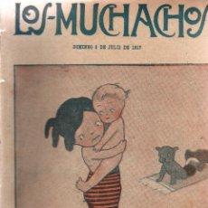 Libros antiguos: LOS MUCHACHOS. SEMANARIO CON REGALOS. NÚM. 165. DOMINGO, 8 DE JULIO DE 1917.. Lote 111223671
