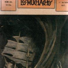 Libros antiguos: LOS MUCHACHOS. SEMANARIO CON REGALOS. NÚM. 164. DOMINGO, 1 DE JULIO DE 1917.. Lote 111224051