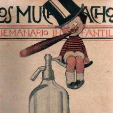 Libros antiguos: LOS MUCHACHOS. SEMANARIO INFANTIL. NÚM. 163. DOMINGO, 24 DE JUNIO DE 1917.. Lote 111224335