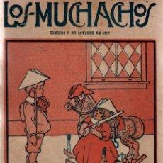 Libros antiguos: LOS MUCHACHOS. SEMANARIO INFANTIL. NÚM. 178. DOMINGO 7 DE OCTUBRE DE 1917.. Lote 111234311